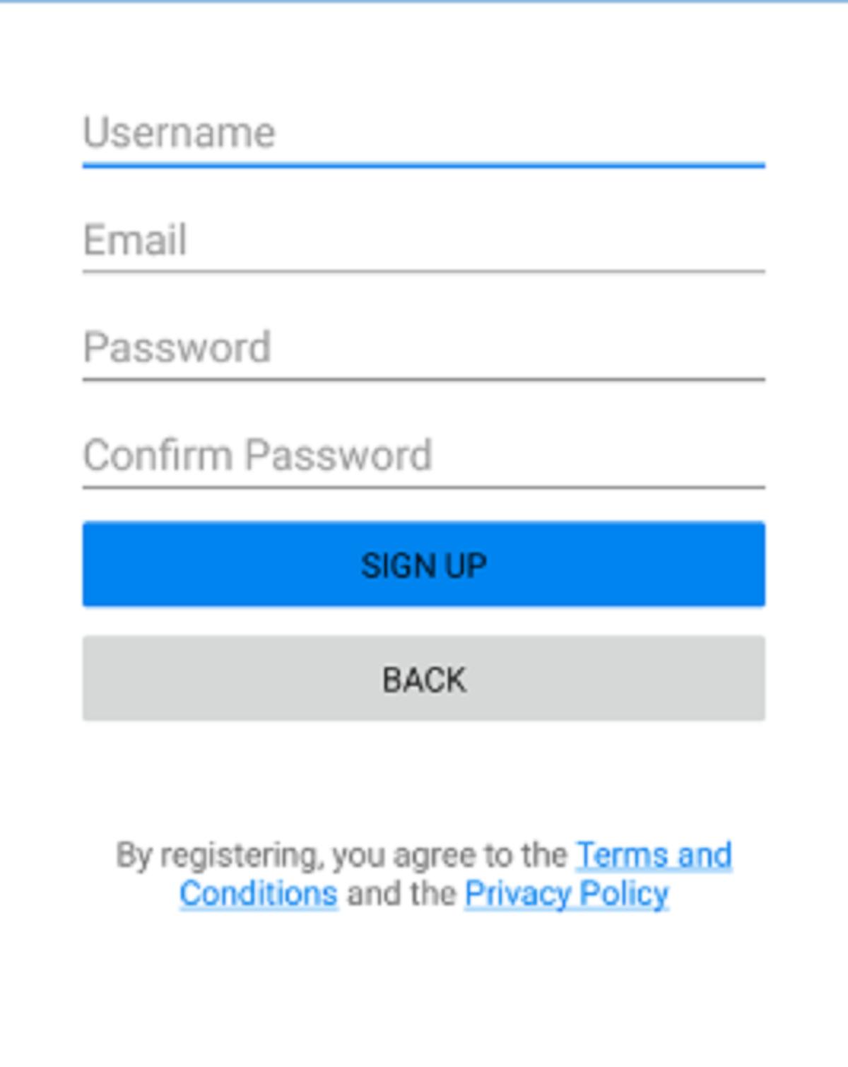Chatango Registration
