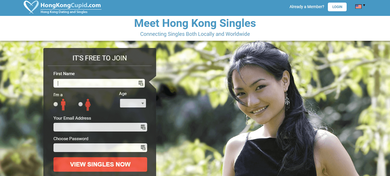 Hongkong Cupid Registration