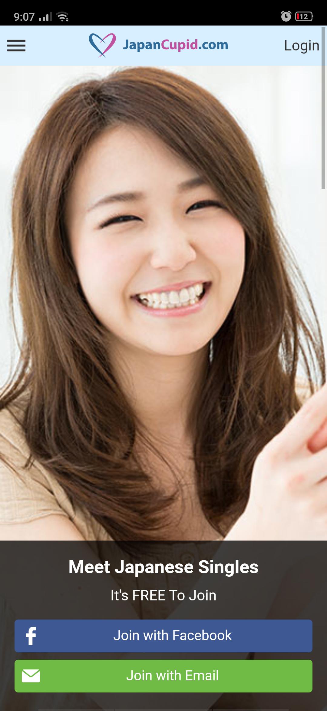 Japan Cupid Mobile App
