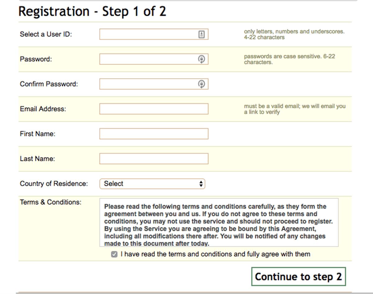 Mehndi Registration