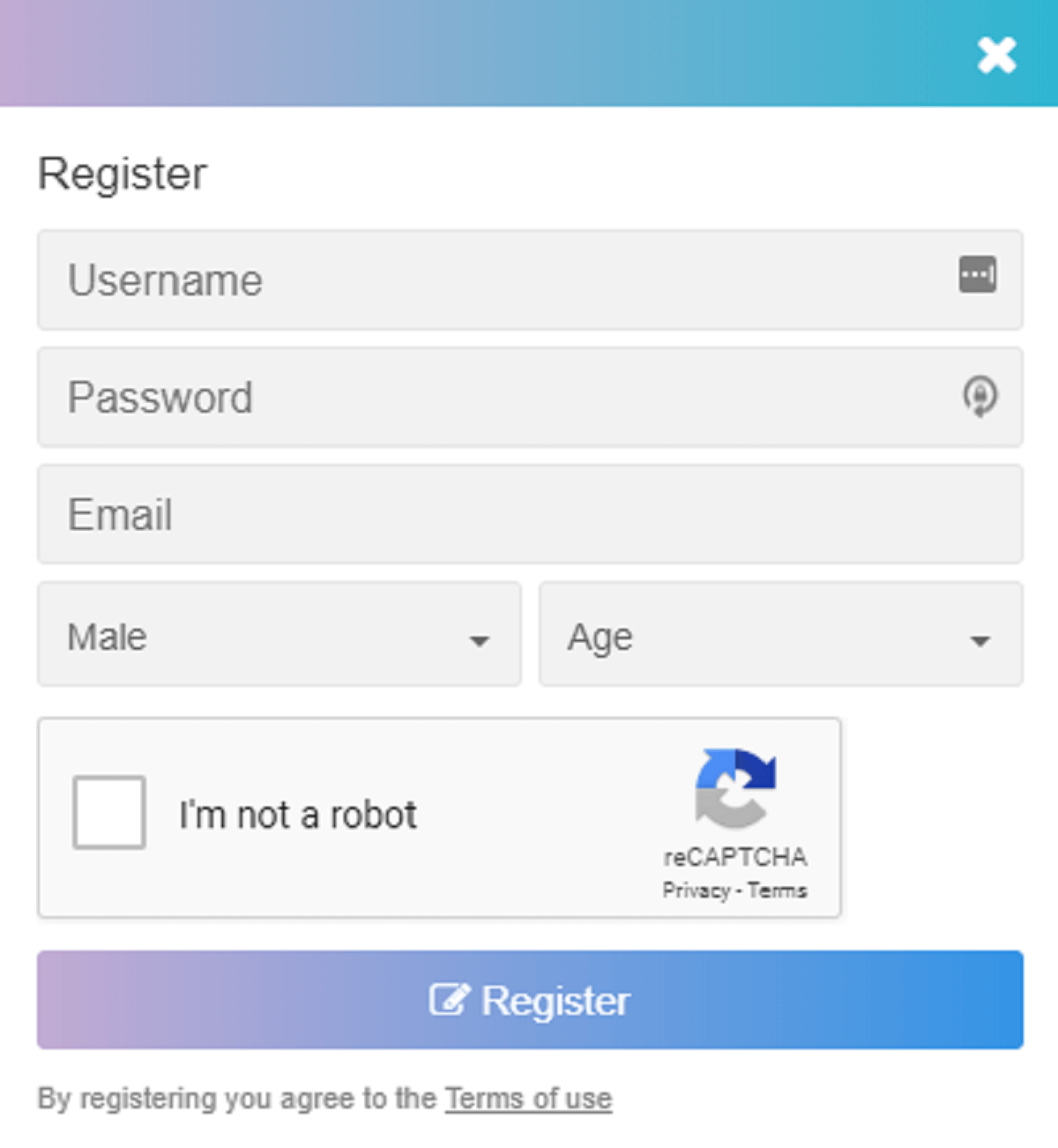 TeenChat Registration
