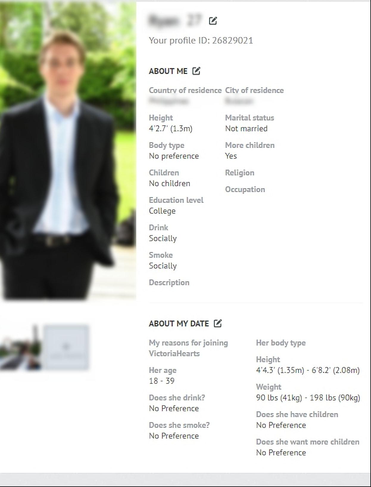 Victoria Hearts Profile