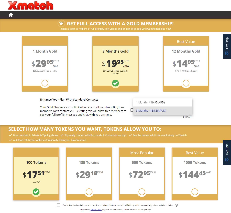 XMatch Price AU