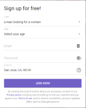 Dating For Parents Signup