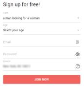 NaughtyDate Registration