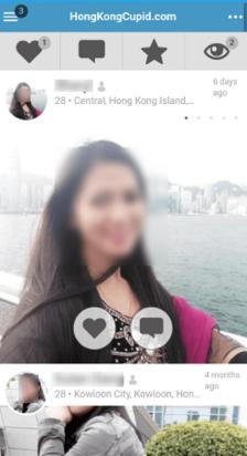 Hongkong Cupid Mobile App