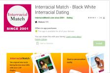 InterracialMatch App