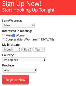 Adultfriendfinder Signup