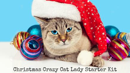 Christmas Crazy Cat Lady Starter Kit
