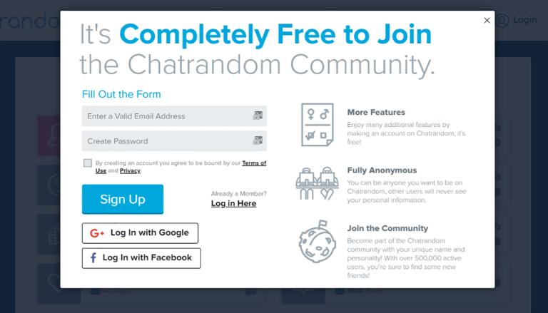 Chatrandm Chatrandom: App