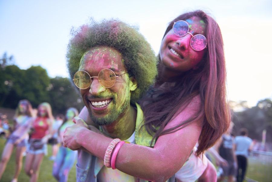 Indian Dating Fun Couple