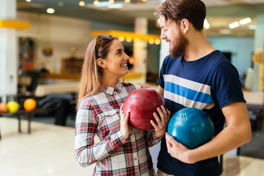 Couple flirter