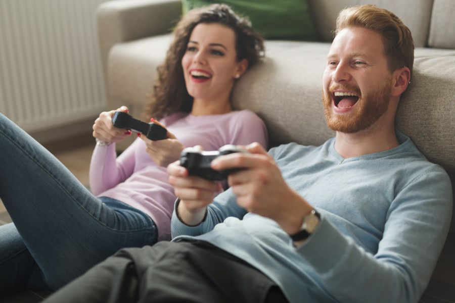 Friendzone Friends Playing Game
