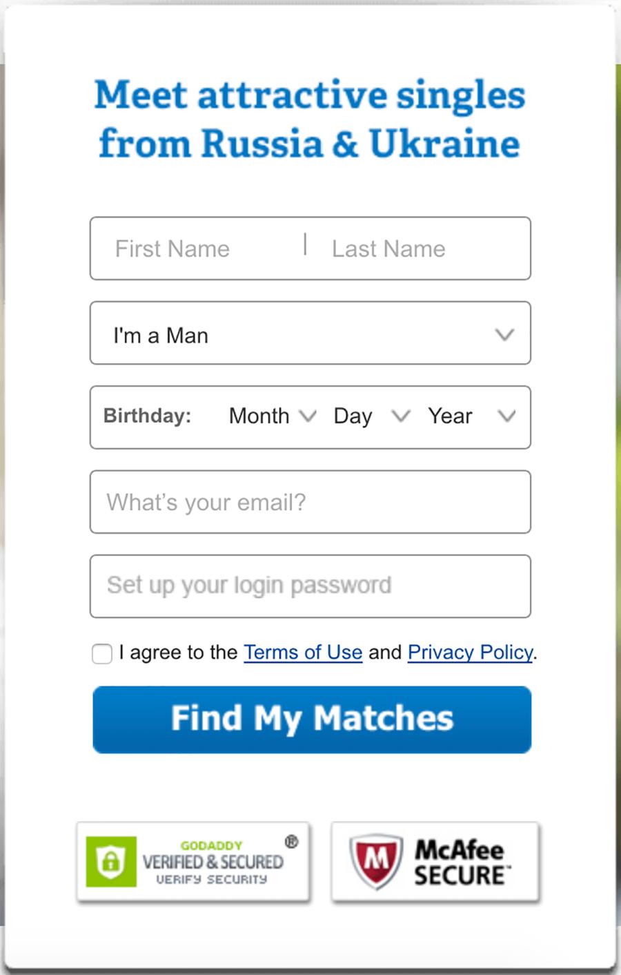 CharmDate Registration