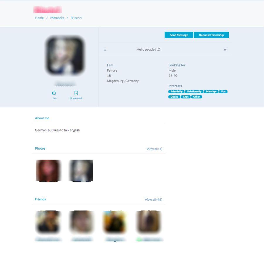 Chat Bazaar Profile
