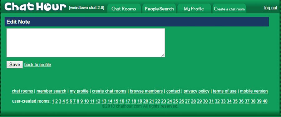 Chat Hour Edit Profile 5