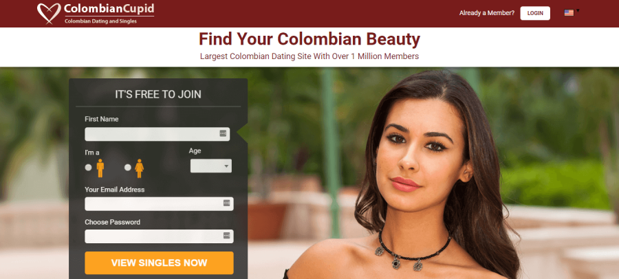 Colombian Cupid Registration