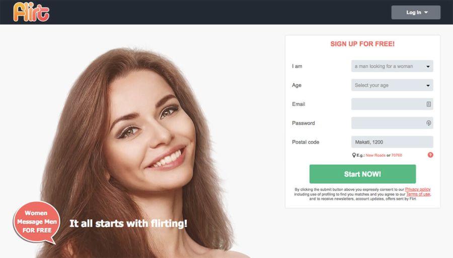 flirt registration