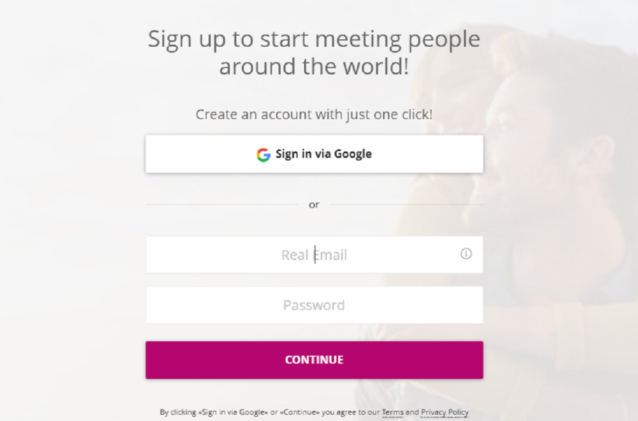 flirtwith signup