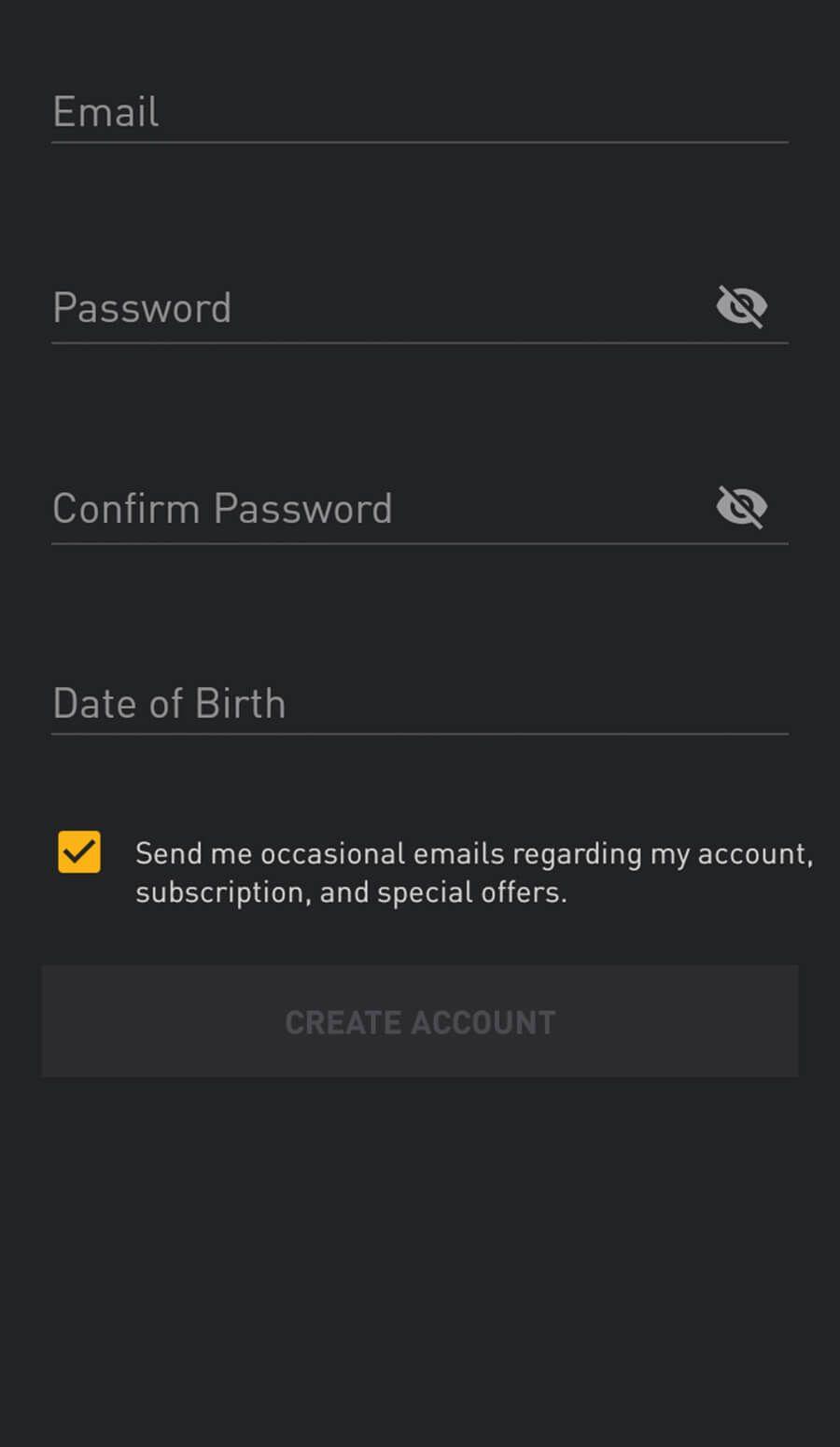 Grindr Registration