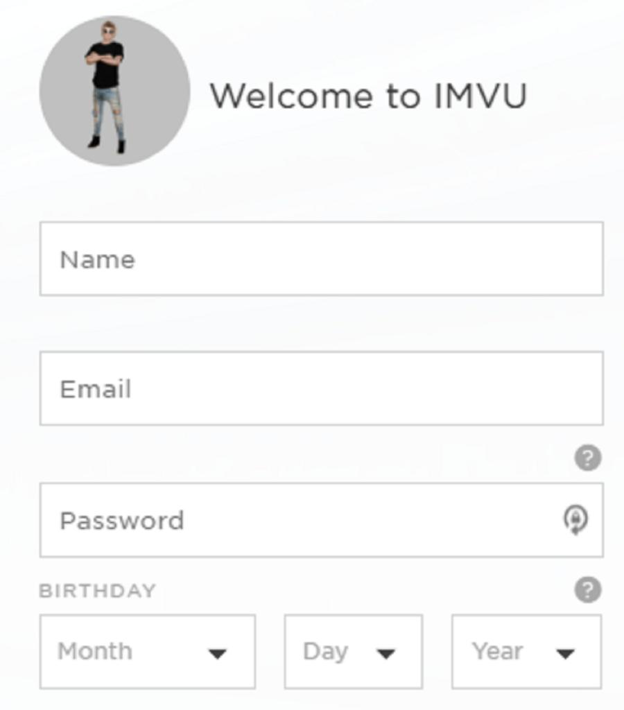 Imvu Signup