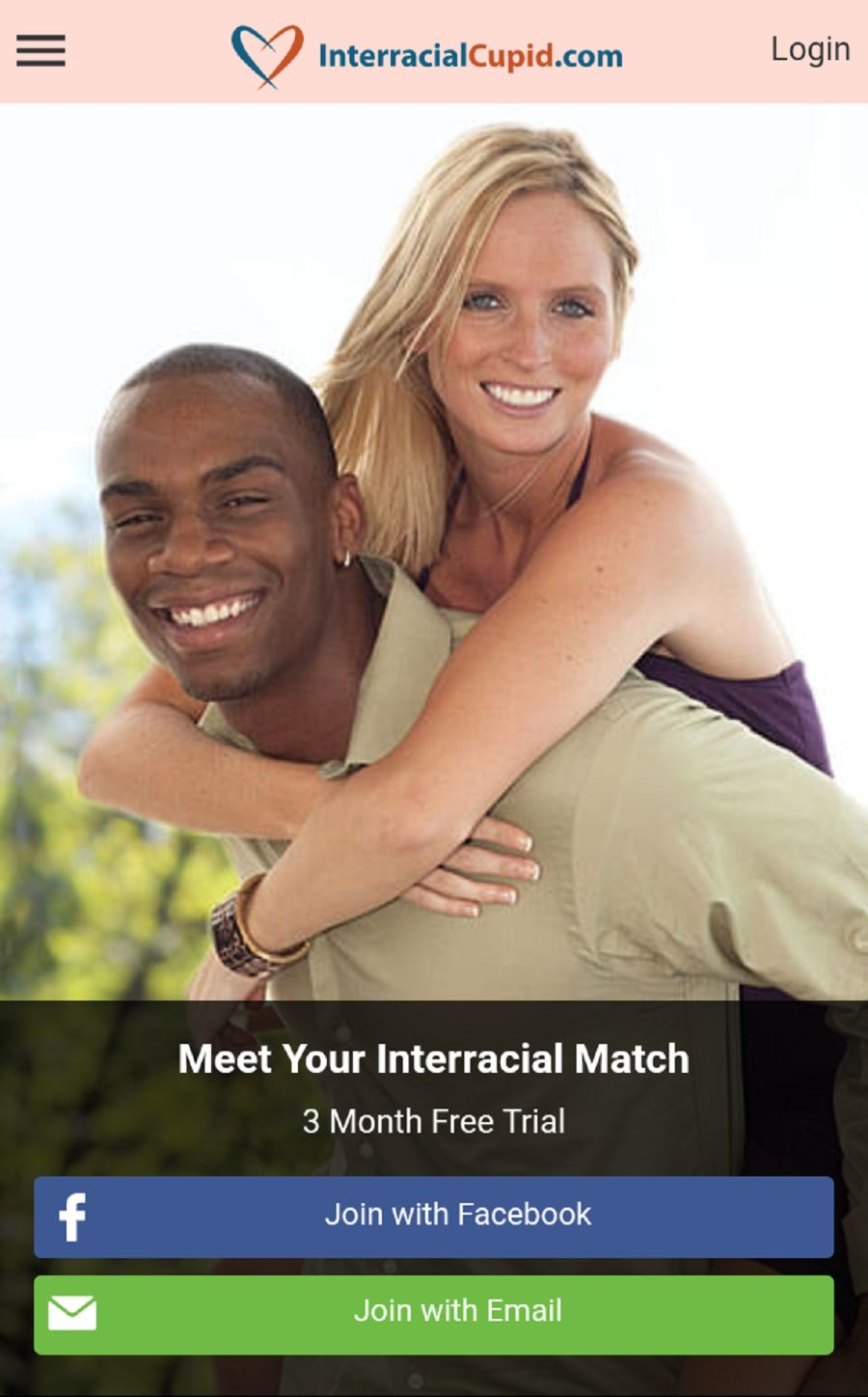 Interracial Cupid App