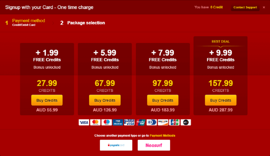 LiveJasmin Prices