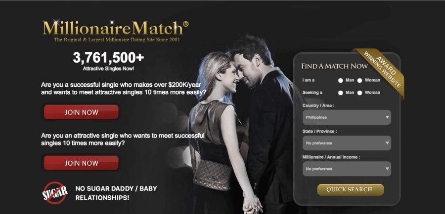 MillionaireMatch Registration
