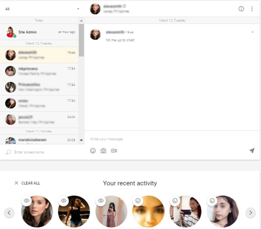 OneNightFriend Messaging
