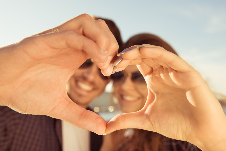 positive singles heart