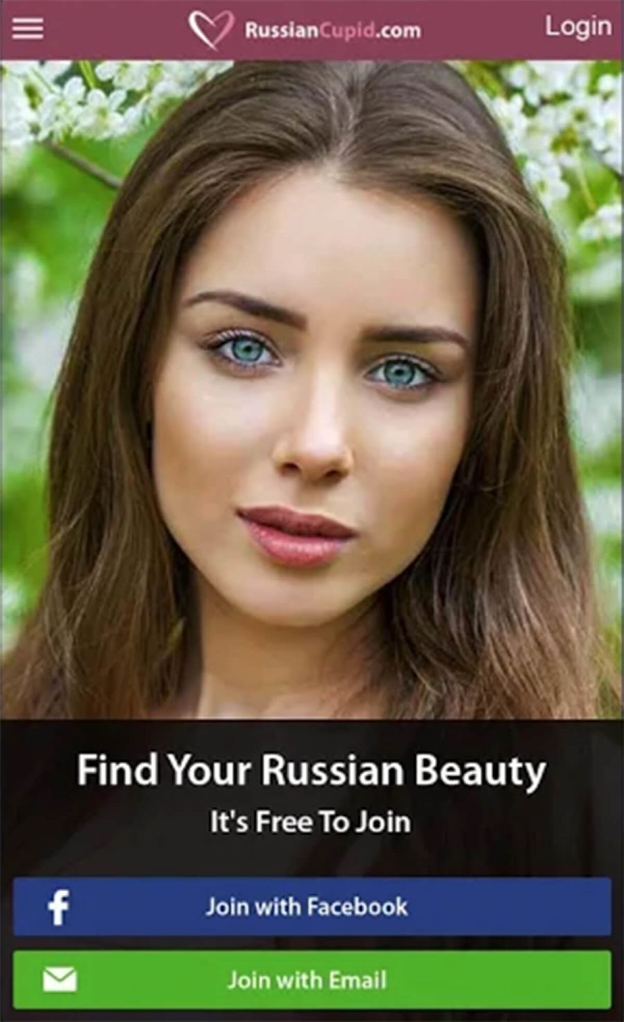 RussianCupid App