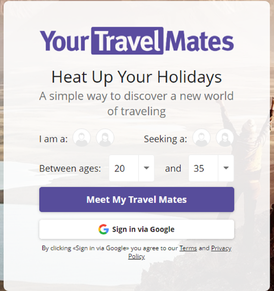 yourtravelmates signup